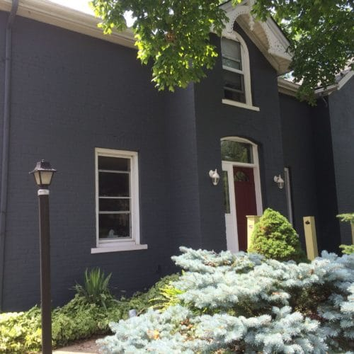 Our Painting Services Painted Brick House